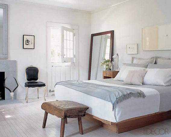 20 dormitorios de pareja decorados en tonos neutros for Decoracion de habitaciones parejas
