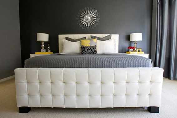 20 dormitorios de pareja decorados en tonos neutros for Decoracion de recamaras para parejas