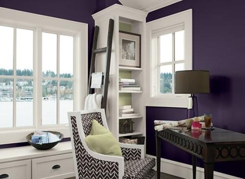 Good looking Office Color Ideas Purple - Home Design #438