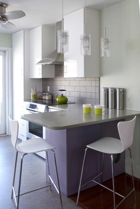 Dise os de cocinas peque as y modernas for Disenos para cocinas pequenas
