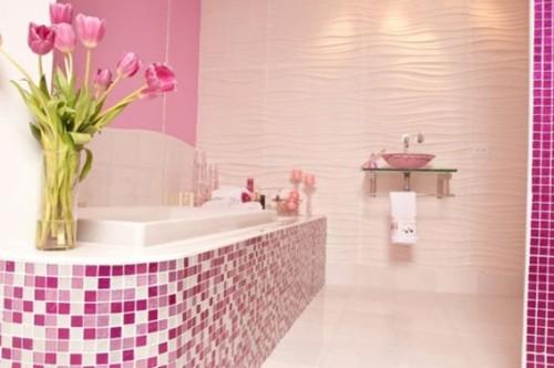 Dise os de ba os femeninos - Rosa badezimmer ...
