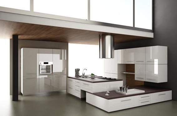 moderna cocina minimalista moderna - Diseo Minimalista