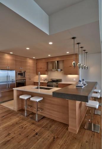 17 diseños de cocinas minimalistas modernas