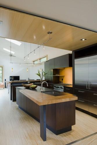 17 dise os de cocinas minimalistas modernas - Plafones de cocina ...