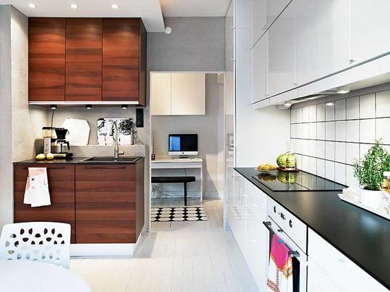 17 dise os de cocinas minimalistas modernas - Simple kitchen design for small space minimalist ...