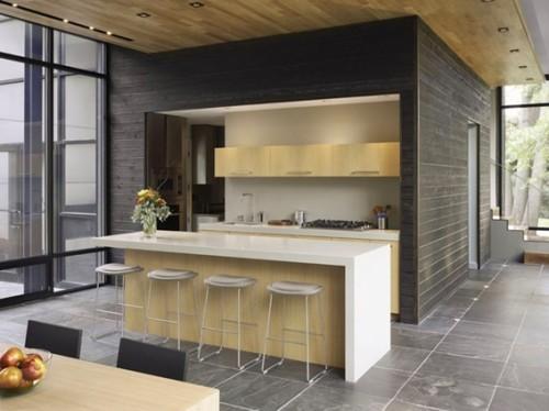 18 dise os de cocinas modernas for Barras de cocina modernas