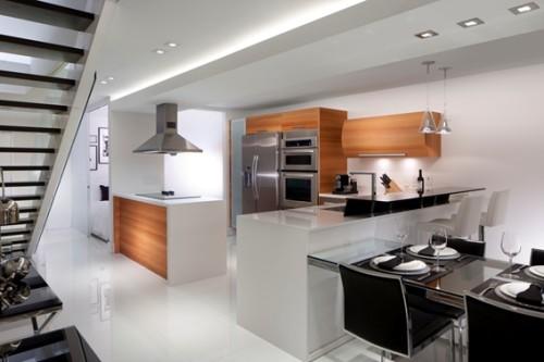 18 dise os de cocinas modernas - Cocinas diseno moderno ...