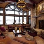 20 Diseños de Salas Rústicas