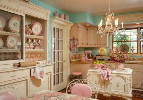19 Diseos De Cocinas En Color Rosa