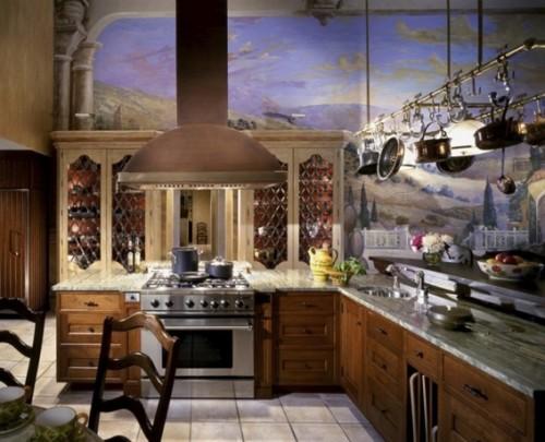 12 acogedoras cocinas estilo mediterr neo for Kitchen designs egypt