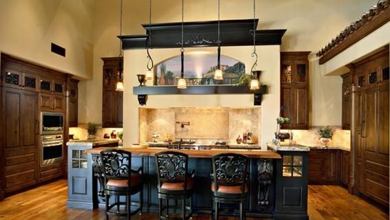diseño cocina mediterranea