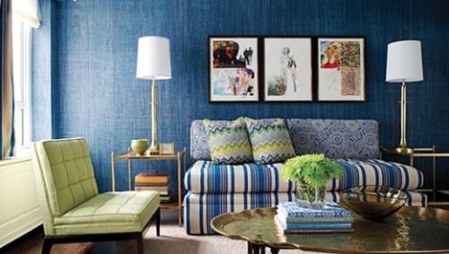 diseño sala azul