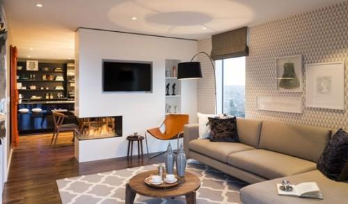 18 estupendos dise os de salas modernas for Disenos de salas modernas