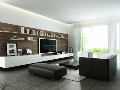 18 estupendos dise os de salas modernas for Fotos salas modernas