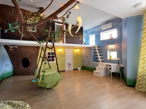 decorar-dormitorio-animales-niños