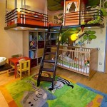 18 Ideas de Dormitorios Decorados para Niños con Animales de la Selva – Sabana