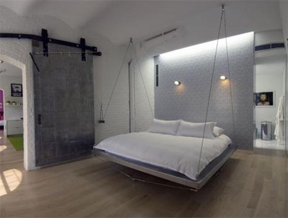 15 Hermosos Dise Os De Camas Colgantes Para El Dormitorio