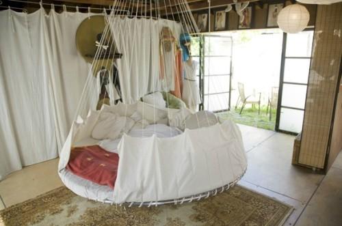 15 hermosos dise os de camas colgantes para el dormitorio - Fotos de camas bonitas ...