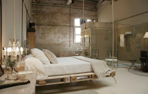 diseño cama colgante
