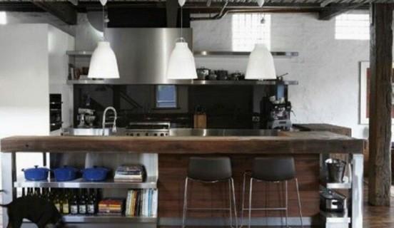 diseño cocina industrial