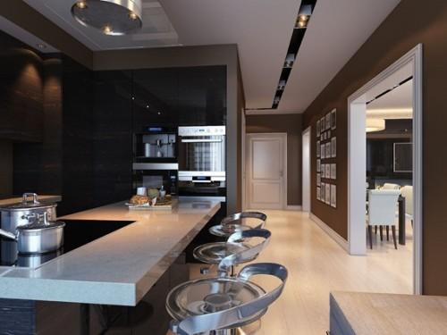 diseño cocina masculina