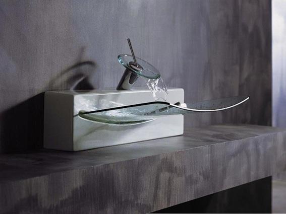 Lavabos Vidrio Para Baño:18 Diseños de Lavabos para el Cuarto de Baño