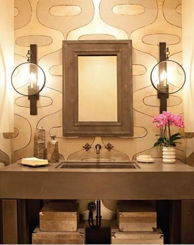 18 dise os de lavabos para el cuarto de ba o for Muebles para lavamanos modernos