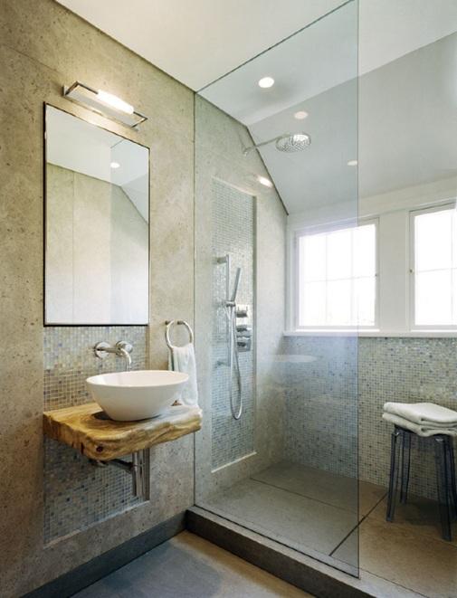 Lavamanos Baño Pequeno:Lavamanos de esquina, igualmente es ideal para ambientes reducidos