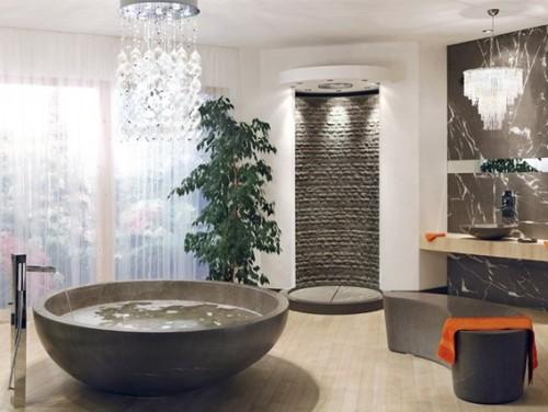 diseño baño lujoso