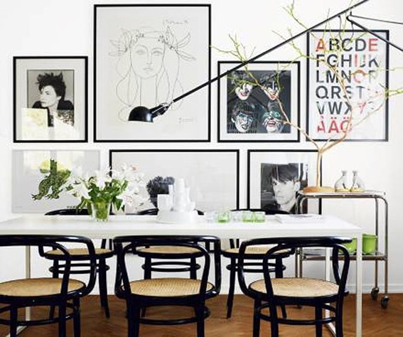 21 Estilos e Ideas para Decorar tu Comedor : comedor casual from decoraciondelacasa.com size 567 x 474 jpeg 89kB