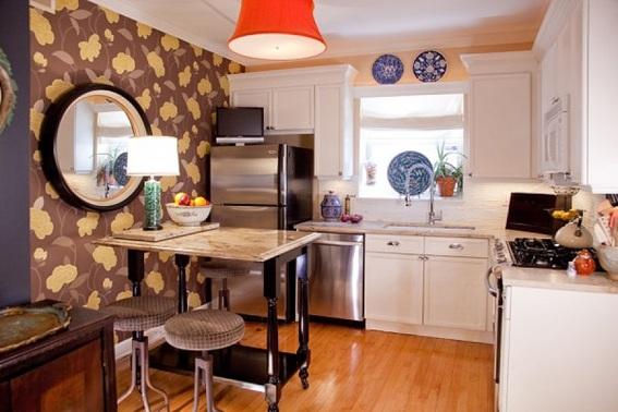 15 dise os de comedor y cocina juntos para espacios peque os for Cocina comedor en l