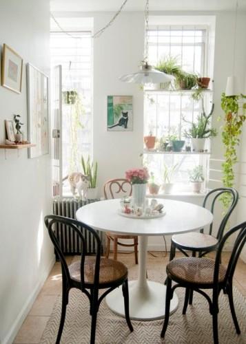 15 dise os de comedor y cocina juntos para espacios peque os for Decoracion para minidepartamentos