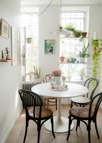 15 dise os de comedor y cocina juntos para espacios peque os for Cocina comedor chico