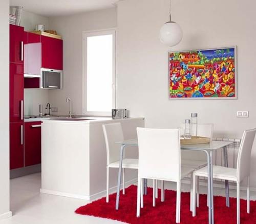 15 dise os de comedor y cocina juntos para espacios peque os for Cocina y salon unidos