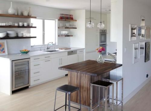 15 dise os de comedor y cocina juntos para espacios peque os for 3m kitchen ideas