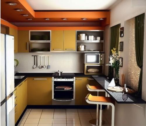 15 dise os de comedor y cocina juntos para espacios peque os for Cocina comedor pequena