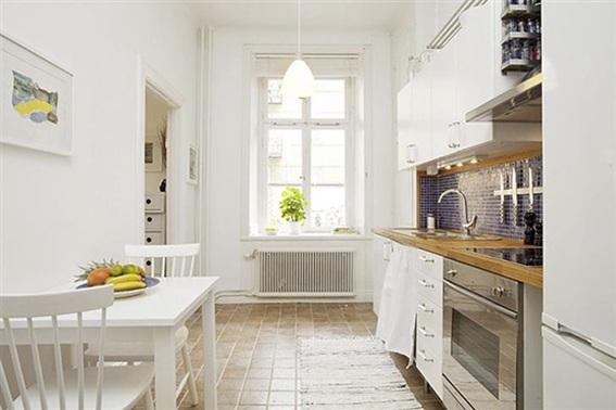 15 dise os de comedor y cocina juntos para espacios peque os for Cocina comedor 3x3