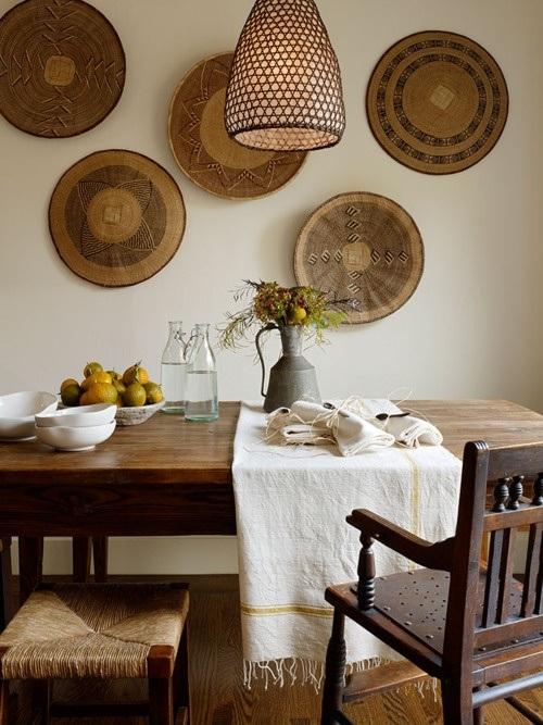 15 ideas de comedores decorados estilo r stico - Objetos rusticos para decoracion ...