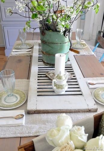 mesa comedor vintge