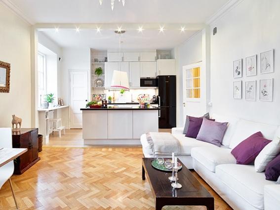 """Sala Pequena Organizada ~ One Reply to """"¿Cómo decorar una Sala Pequeña? Ideas y Hermosos"""