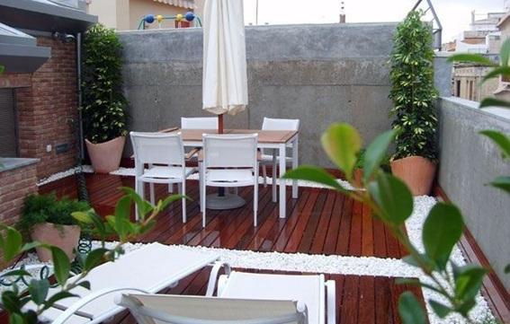 15 estupendos dise os de terrazas - Comedor terraza ...
