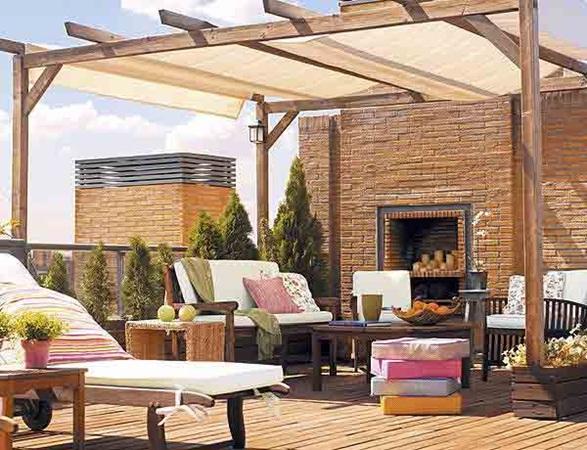 15 estupendos dise os de terrazas - Diseno de terraza ...