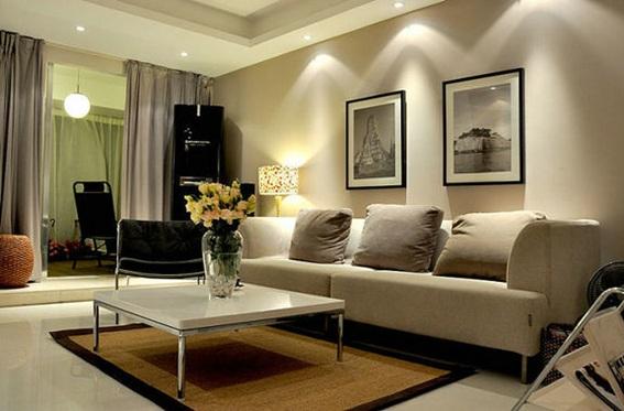 Ideas para decorar salas con cuadros - Iluminacion para cuadros ...