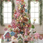 5 Árboles de Navidad Decorados con Dulces