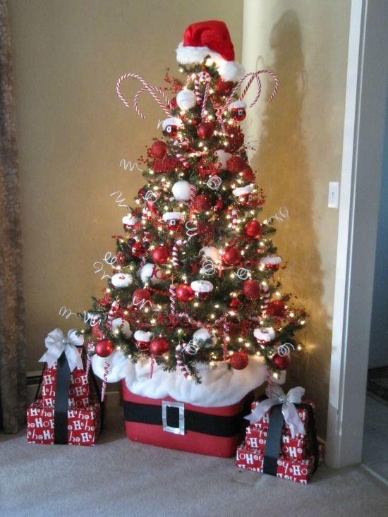 15 rboles de navidad peque os decorados - Imagenes de arboles navidad decorados ...