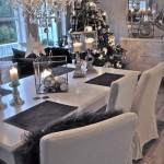 Ideas para Decorar con Gris en Navidad