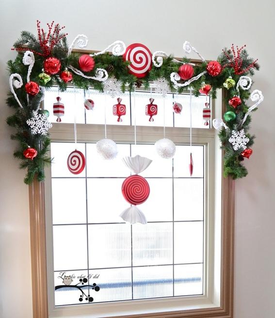 11 magn ficas ideas para decorar la ventana en navidad for Como adornar mi casa en navidad
