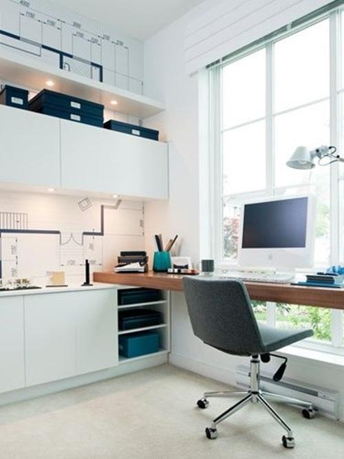 15 dise os de oficinas modernas para el hogar for Combinacion de colores para oficinas modernas