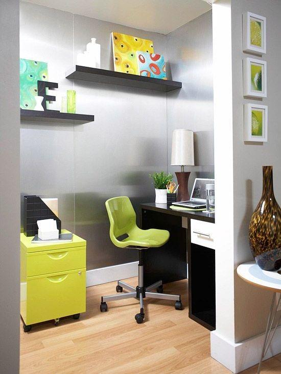 15 dise os de oficinas modernas para el hogar for Oficinas pequenas modernas en casa