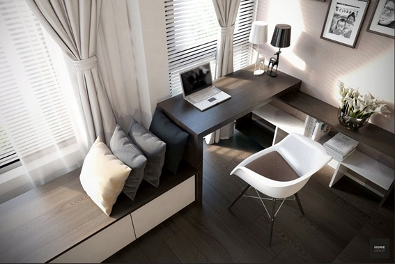 15 dise os de oficinas modernas para el hogar for Imagenes de oficinas modernas pequenas